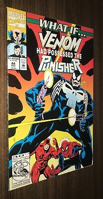 WHAT IF #44 -- Venom Possessed the Punisher -- VF/NM Or Better