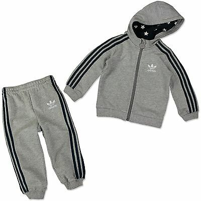 Adidas Originals Super Star Baby Gift Casual Suit Infant Grey Blue 62