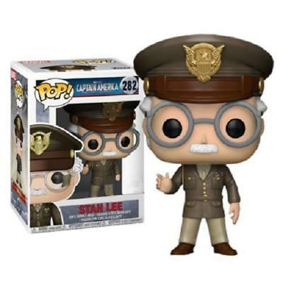 Funko POP ! Stan Lee First Avenger Captain America  #282 - Limited Edition