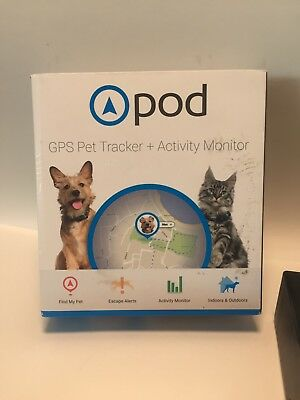 POD GPS PET TRACKER+ACTIVITY MONITOR pet finder/smart wearable device with app