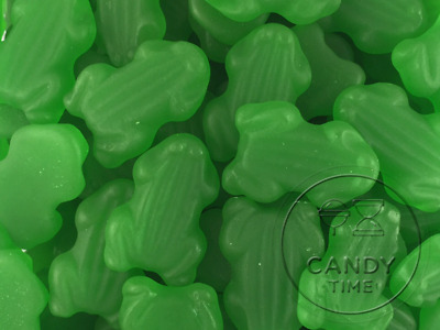 Lolliland Green Frogs 1kg Lollies