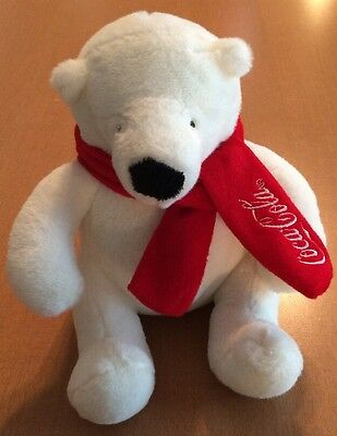 Coca Cola Bear Plush from 2012