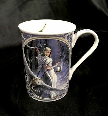 Anne Stokes Midnight Messenger Wings Of Hope Collection  Fine Bone China Mug Cup