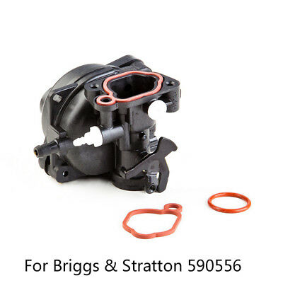 Carburetor Carb Kit for Briggs & Stratton 590556 Lawn Mower Engine Replacement