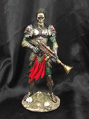 "*NEW* Anne Stokes"" Armoured   Zombie Warrior"" FantasyFigurine Statue 22cm"