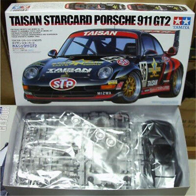 Tamiya 24175 1/24 Model Car Kit Team Taisan Porsche 911 GT2 Starcard JGTC'95 NEW