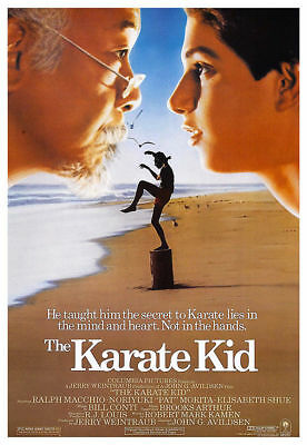 The Karate Kid Vintage Movie Poster A5..A4 And A3 Options