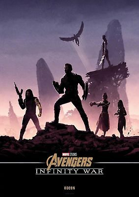 Avengers Infinity War  Movie Poster A5..A4 And A3 Options