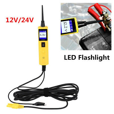12/24V Automotive Circuit Tester Electrical Power Probe Voltage Diagnostic Tool