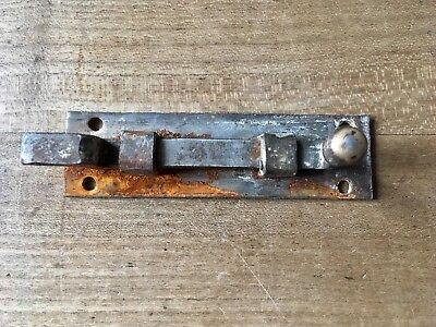 Antique Lock Latch Bolt Bathroom Toilet Reclimed Old