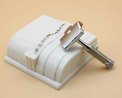 Vintage 1940s Ever-Ready Streamline Safety Razor Stropping Outfit Set w Shipper