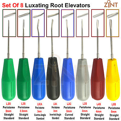 Surgical Tooth Luxating Elevator Oral Surgery Dentist Extraction Luxation Tools