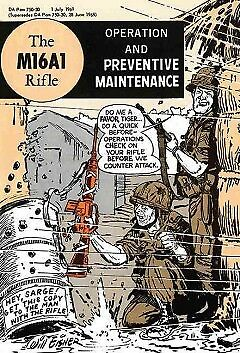 The M16A1 Rifle - NEW - 9781616088644 by Department of the Army (COR)/ Eisner, W