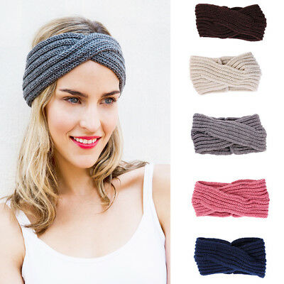 LC_ EG _ donna annodato Fascia Capelli TURBANTE ACCESSORI COMPATTO alla moda CR