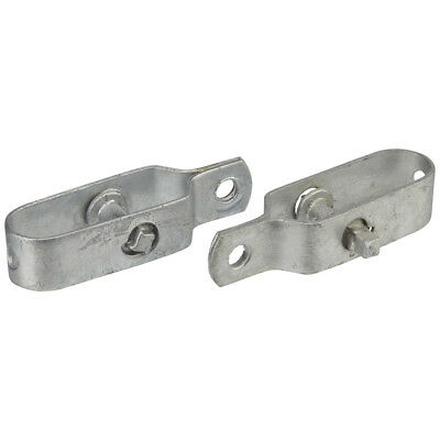 Galvanised Ratchet Strainers Fencing Post Wire Brackets Rust Proof Pack of Two
