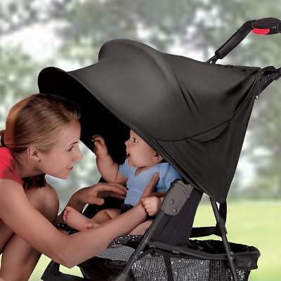 Summer Infant Rayshade UV Protective Stroller Shade for Sun Protection, Black