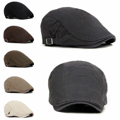 LC_ Uomo EDERA Cappello BERETS CAPPELLO GOLF Driving SOLE Basse Cabbie COPPOLA