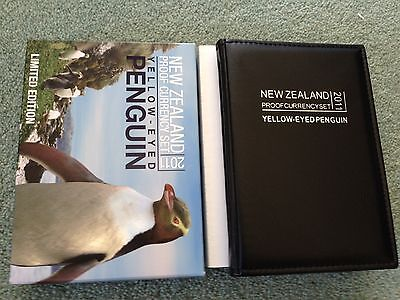 2011 New Zealand Proof Set Yellow-Eyed Penguin Limited Edition 500 RARE