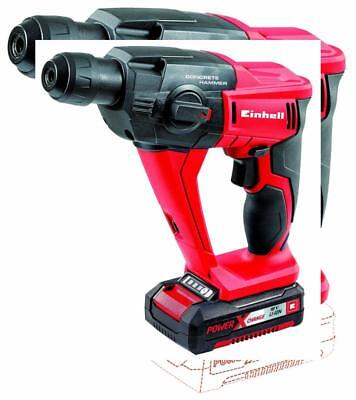Einhell Marteau perforateur sans fil sur batterie TE-HD 18 Li Solo Power...