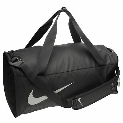 Nike Alpha Adapt Cross Body Duffel Bag Grey Blk Sports Gym Bag Holdall  Carryall 3d6c88b09367b