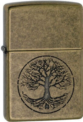 BRIQUET ZIPPO ESSENCE NEUF - ARBRE DE LA VIE ( Original , Tempete , Collection )
