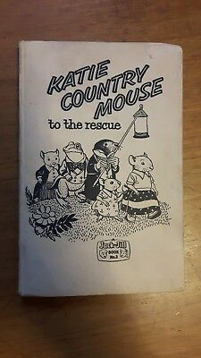 Vintage book: Katie Country Mouse to the Rescue, Jack-Jill, Fleetway, 1961