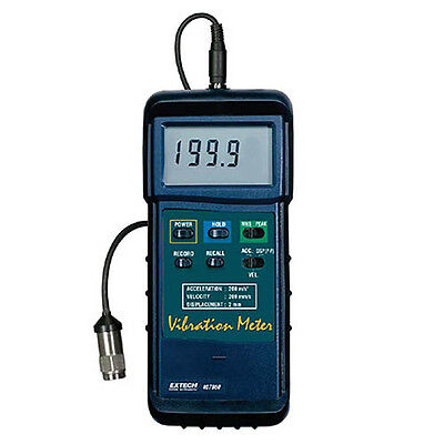 Extech 407860 Heavy Duty Digital Vibration Meter