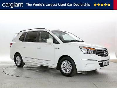 2015 (15 Reg) Ssangyong Turismo 2.0 ES White MPV DIESEL AUTOMATIC