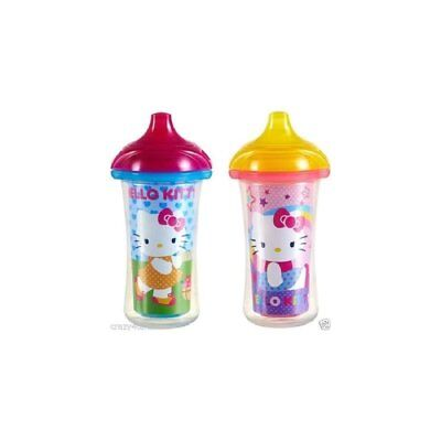 Hello Kitty 9oz Insulated Sippy Cup (Set of 2)