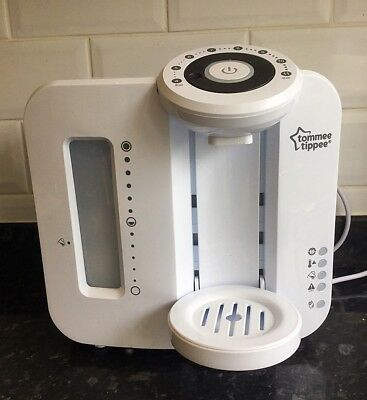 Tommee Tippee Perfect Prep Machine White Very Good Condition In