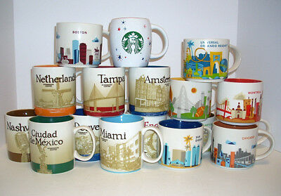 Starbucks Mugs - Global Icon / You Are Here - 14 to 16 oz - You Pick One