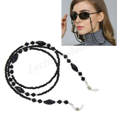 Beaded Chain Reading Glasses Eyeglass Holder Spectacle Sunglass Eyewear Cord