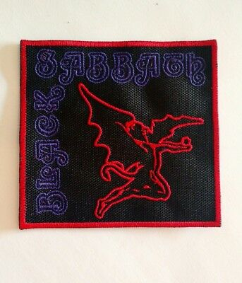 Black Sabbath Patch Embroidered Iron/sew-on USA Seller Doom Metal Ozzy Osbourne