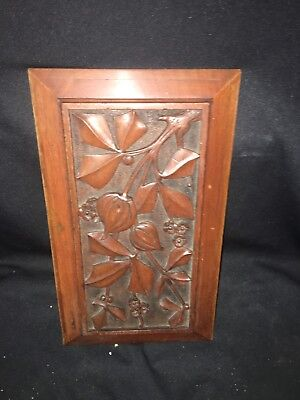 "1940's 14 5/8"" Wood Pediment Panel"