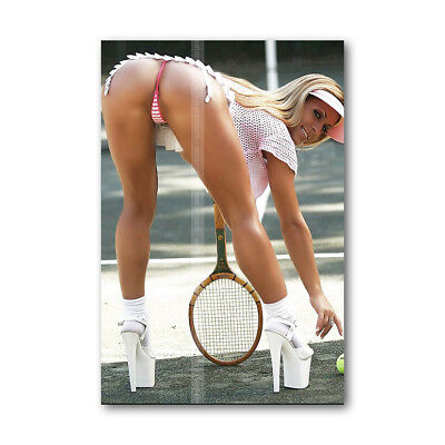 A • 290 Photo on Magnets Sexy Tennis Models Decorate. Locker / Refrigerator 3.5""
