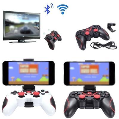 Wireless Bluetooth Gamepad Joystick Game Controller USB Cable For Android_Phone