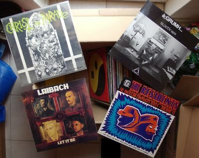 LP SAMMLUNG ca 85 Lp xtc b52 laibach cure punk a grumh zappa kate bush metal pop