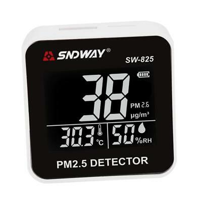 Portable PM2.5 Detector Monitor Air Quality Detecting Haze Dust Tester Meter