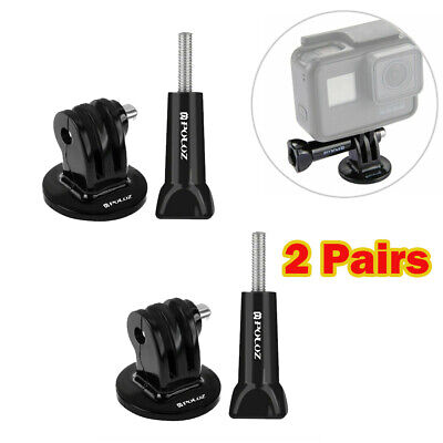 PULUZ Camera Tripod Mount Adapter with Long Screw for GoPro HERO6/5/4 Session/3+