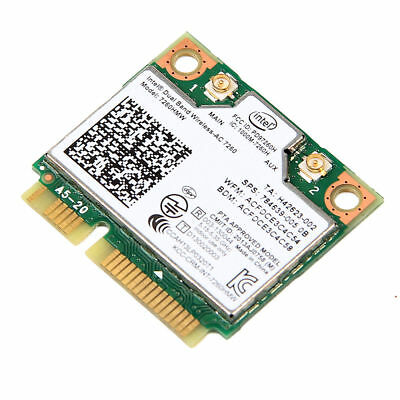 Neueste Version Intel Dual Band Wireless AC 7260 HMW 867Mbps 802.11ac Mini PCIe