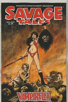 Dynamite Comics Savage Tales Vampirella One Shot May 2018 1St Print Nm