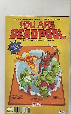 Marvel Comics You Are Deadpool #2 July 2018 Espin Rpg Variant 1St Print Nm