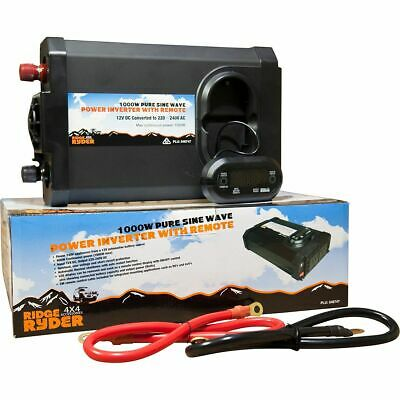 Ridge Ryder PSW Inverter - 1000W