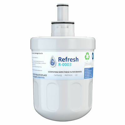 Refresh Replacement Water Filter - Fits Samsung Tier1 RWF1010 Refrigerators