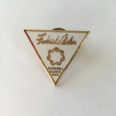 Frederick & Nelson Goodwill Games 1990 Lapel Pin Defunct Seattle Dept. Store HTF