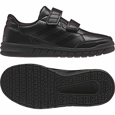 Adidas Boys Black Back To School Shoes Trainers Alta sports Casual Kids