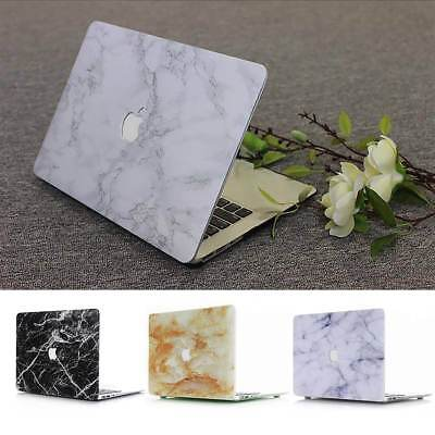 """Marble Rubberized Hard Shell Case, Cover for Apple MacBook Air Pro Retina 12 13"""""""