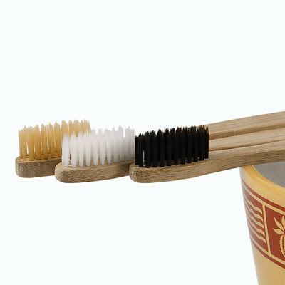 Environment-friendly Wood Toothbrush Bamboo Toothbrush Soft Bamboo Fibre PLGH