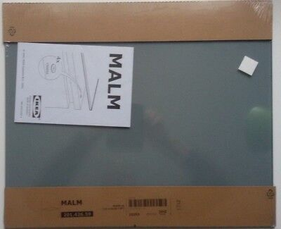 ikea malm glasplatte transparent grau 40cm x 48cm eur 28 00 picclick de. Black Bedroom Furniture Sets. Home Design Ideas