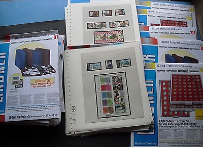 Lindner Pre-Printed Album Pages Approx 500stück 17,2kg New In Original Box for
